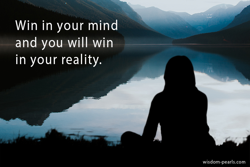 Win your mind quote